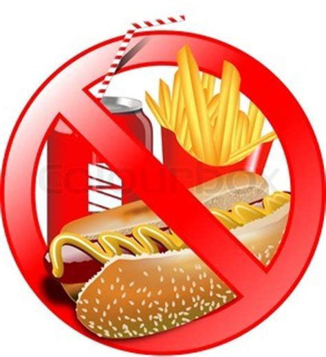 Short essay on say no to junk food